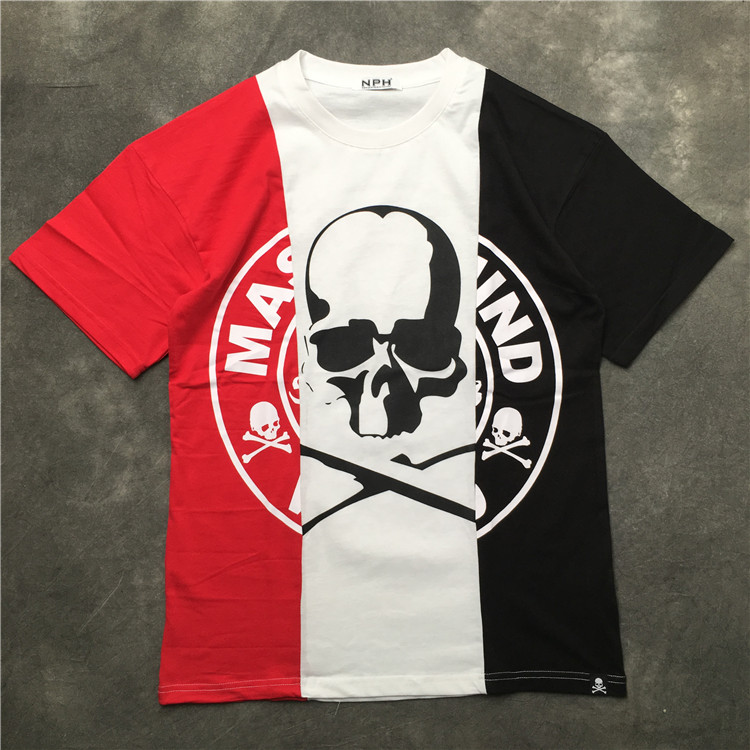 a few days away fantastic savings 50% off US $19.79 10% OFF 2019SS NEW 1:1 High Quality Mastermind world Japan Men  Women short sleeves T shirt hip hop MMJ Skeleton Splice Casual Cotton  Tee-in ...