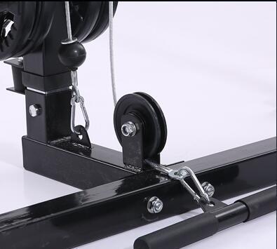 Hohe-spannung Version Semi-rahmen Squat Rack, Horizontale Push-Rack, Barbell Rack, rahmen Gantry Fitness Ausrüstung