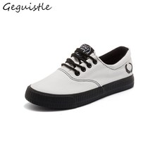 New Arrivals Fresh Casual Canvas Shoes Women Shoes Fashion Comfortable Flat Small White Shoes