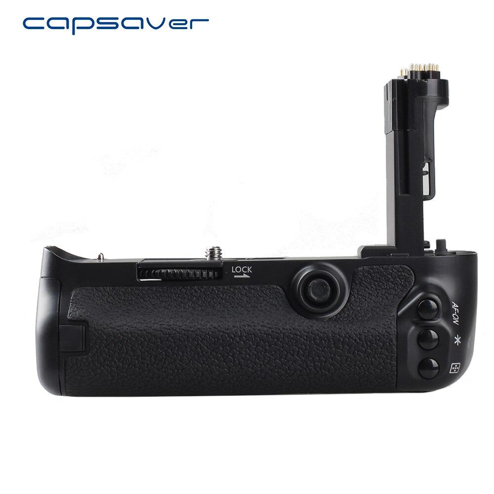 Capsaver poignée de batterie verticale pour canon 5d mark iii 5D3 5D III 5DS 5DSR caméra remplacer le support de batterie de BG E11 travail avec LP E6-in Extensions de batterie from Electronique    1
