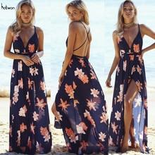 New Hot Sale Sexy font b Womens b font Floral Long Maxi font b Dress b