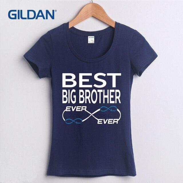 Best Big Brother Ever Youth Cartoon 2018 Custom Made Women T Shirt