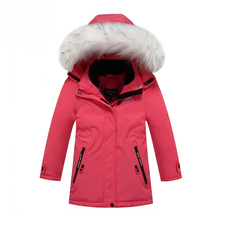 Top Quality!Boys Outerwear Coat Warm Thicken Winter Jackets 2016 Duck Down Coats For Boys Children Clothing Girls Parka Jackets children winter clothing coat for girl wool down jackets for girls baby woolen jacket outerwear kids thicken clothes coats parka