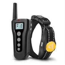 300 м ошейник для домашних собак перезаряжаемый Электрический ударный Вибрационный антикорячий пульт дистанционного управления устройство для обучения собак