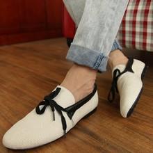 2017 nuevos mens zapatos casuales primavera verano alpargatas de lona transpirable hombres holgazanes chaussure homme hombres punta estrecha zapatos