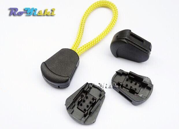 1000pcs/pack Plastic Detach Stopper Cord Ends Buckle For Apparel Sportwear Paracord Accessories1000pcs/pack Plastic Detach Stopper Cord Ends Buckle For Apparel Sportwear Paracord Accessories