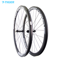 Customization sticker 38mm Carbon Clincher Wheelset Best Value 700c Road Bike Aero Wheels Cycling with straight pull hubs