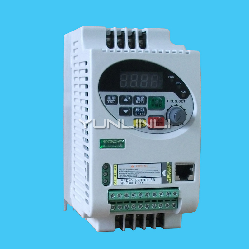VFD-V Fine Drive Inverter 220V 0.75KW 1.5KW 3.0KW Strong Anti-interference Vector Frequency Converter