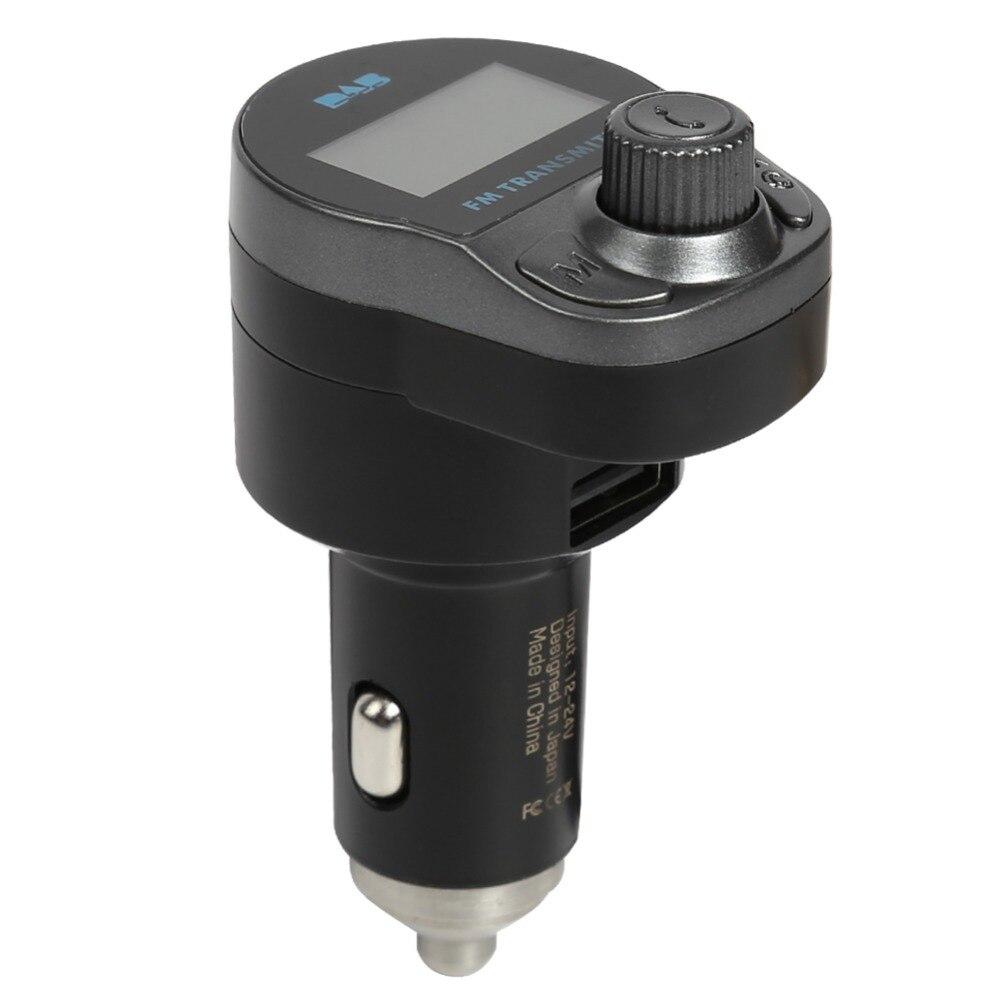 Voiture DAB Radio allume-cigare Interface DAB + récepteur FM lanceur voiture USB chargeur Radio numérique