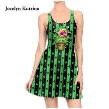 Jocelyn Катрина мини платье с принтом Плиссированное Летнее Платье милое красное платье женское без рукавов тонкое платье для тенниса