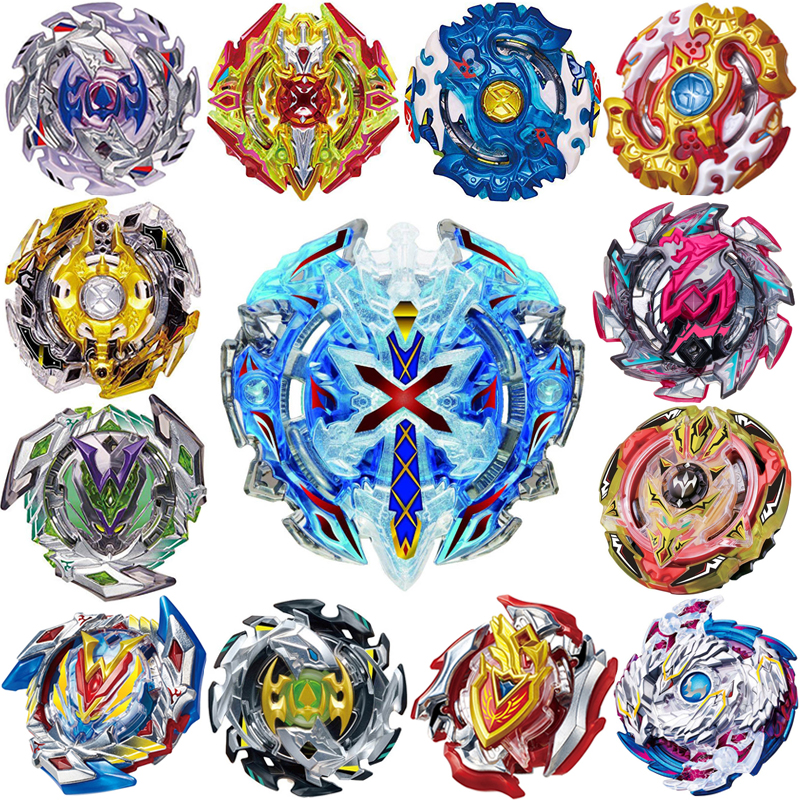 Spin Tops Toys Arena Metal Spin Tops Blades Fusion 4D Spin Tops Without Lanucher And Box CF