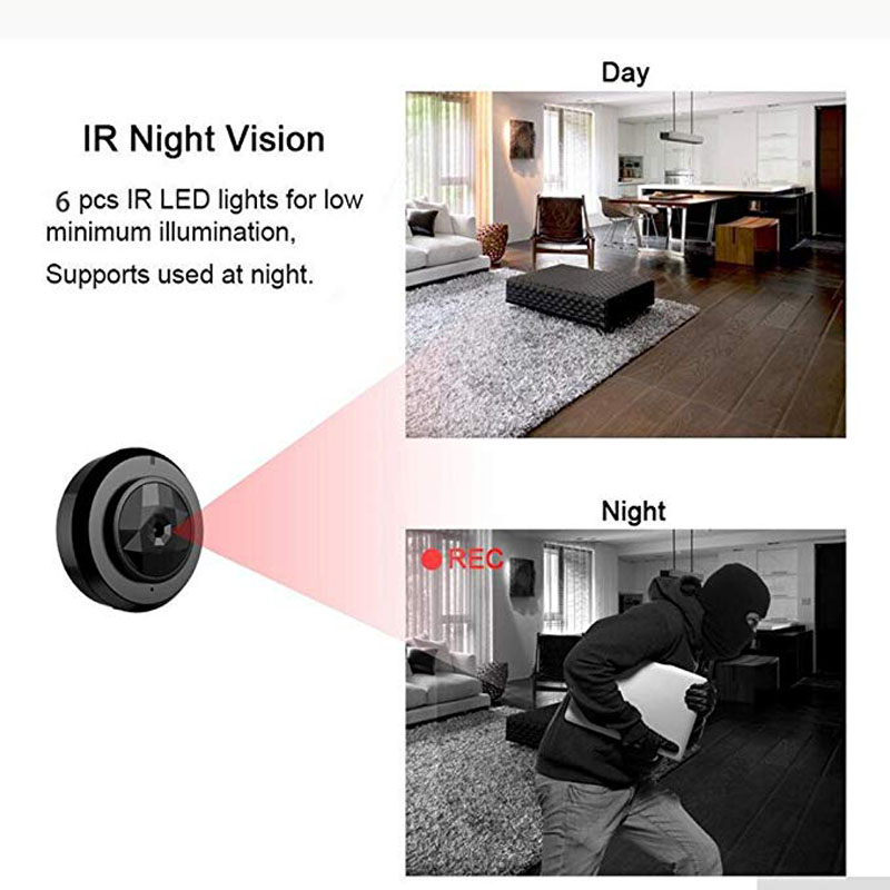 WIFI Mini Camera IP P2P Small kamera Night Vision remote view mirco Camcorder Motion Detection Wireless DVR Video Voice Recorder in Mini Camcorders from Consumer Electronics