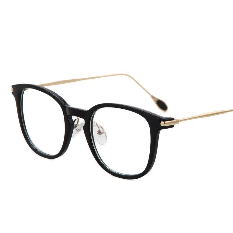 New Fashion Brand Vintage Square Frame Glasses Women Retro Nerd ...