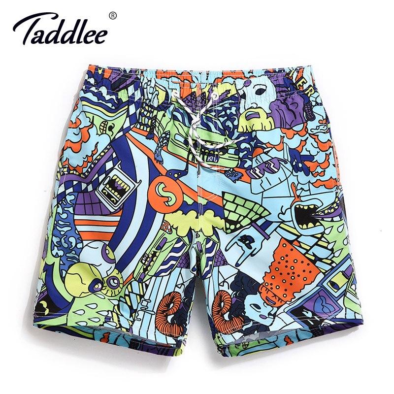 Taddlee Brand Men Beach   Board     Shorts   Surfing Swim Boxer Trunks   Shorts   Bermuda Men's Sports   Shorts   Quick Drying Swimming Trunks
