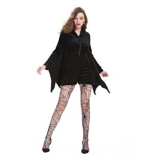 Image 4 - Batman Costumes Adult Sexy Women Dress Carnival Disfraz Mujer Halloween Costume for Women Fancy Party Dress Cosplay Nightclub