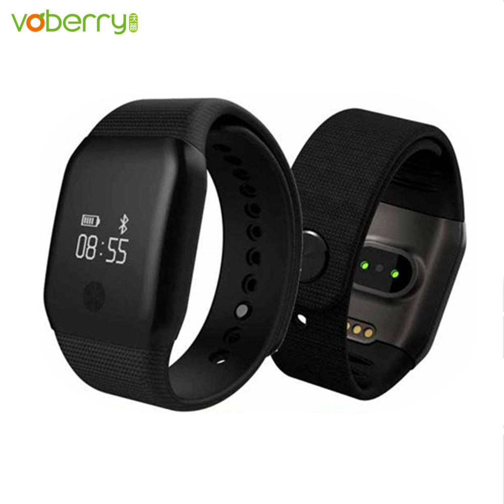 Galleria fotografica A88+ <font><b>Smartwatch</b></font> Heart Rate Monitor Fitness Tracker Waterproof Wristband Sleep Tracker Calorie Band Blood Pressure Meter Watch