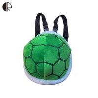 30*28CM Tortoise Shape Bags Children Animal Bag Plush Backpack for Boys and Girls Kindergarten/Students Cute School Bag Bagpack