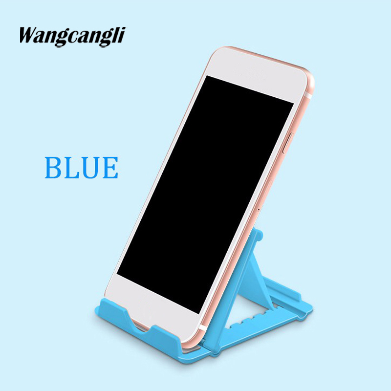 wangcangli desktop phone stand Folding mobile General for Apply to xiaomi mi5 Mobile tablet