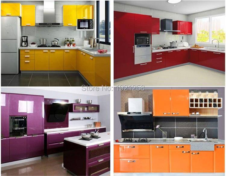 Rollo de papel pintado autoadhesivo de vinilo de 0,61 M 5 para muebles de  cocina, pegatinas de PVC, papel de pared, muebles, puerta de armario