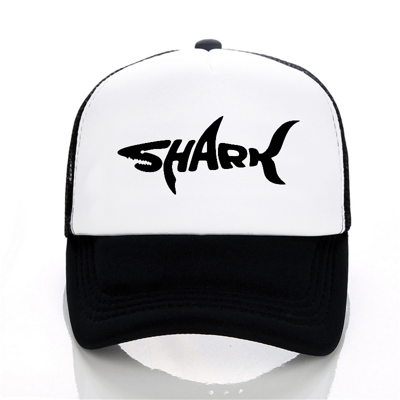 a1dc8b428d29 SHARK baseball caps Men hats Shark Embroidery Dad Hat for Women Fashion Mesh  summer hats trucker