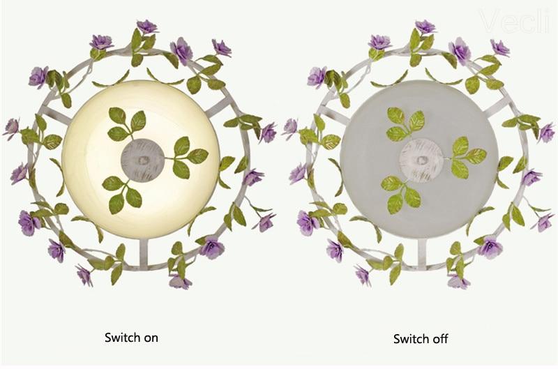 Luxo rústico rural europeu jardim folha flor