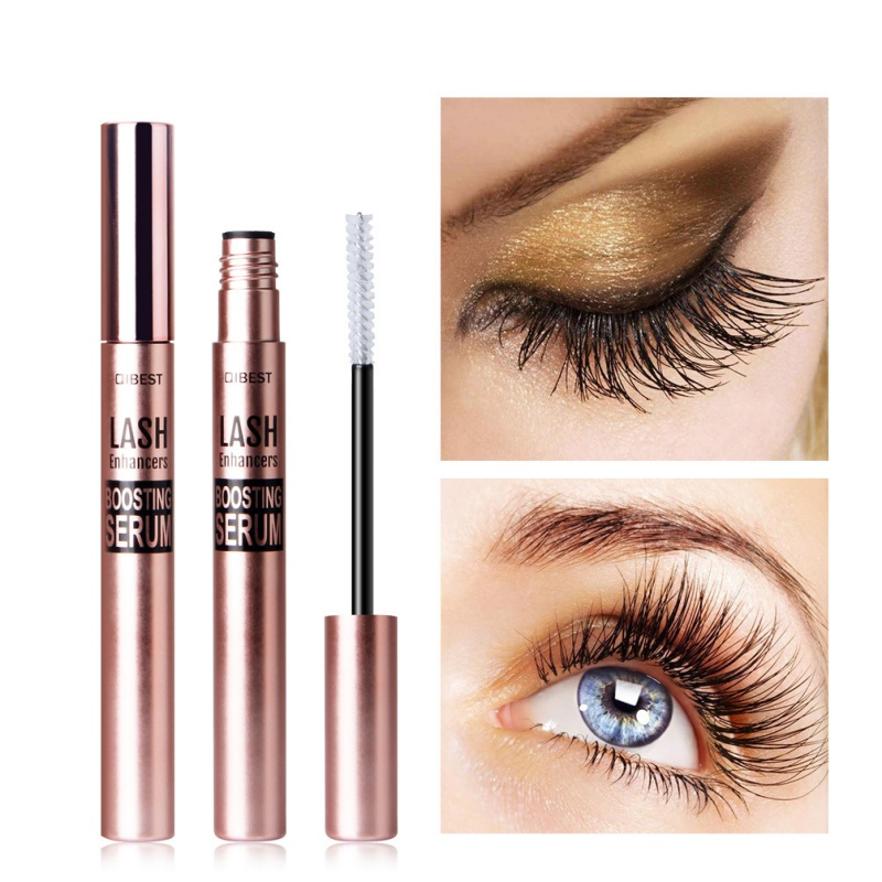Eyelash Growth Enhancer & Brow Serum For Long Luscious Lashes And Eyebrows Revolutionary Serum Boosts Length Eyelashes
