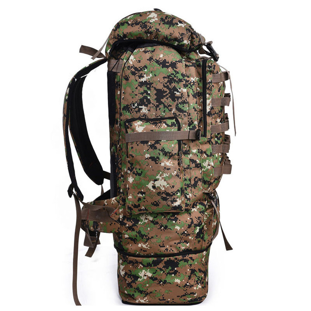 Details about  /60L 80L Men Military Tactical Backpack Travel Camping Hiking Outdoor Sport Bags