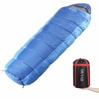 OUTAD Sleep Bag Outdoor Mummy 0 10 Degree Sleeping Bag For Camping Hiking Backpacking Free Shipping