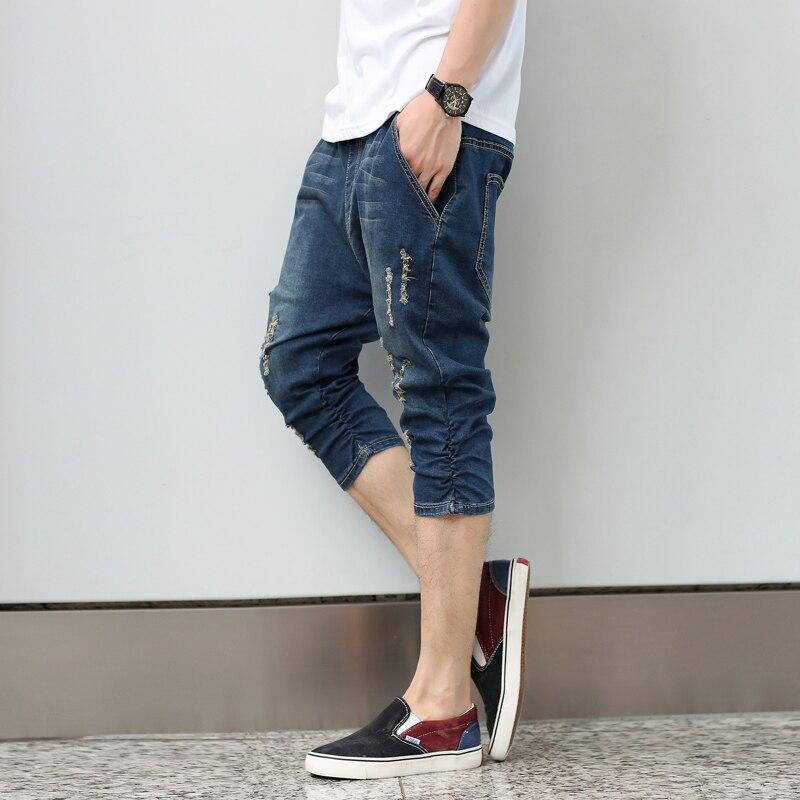 Aliexpress.com : Buy Newest Men Jeans Stretch Distressed Jeans ...