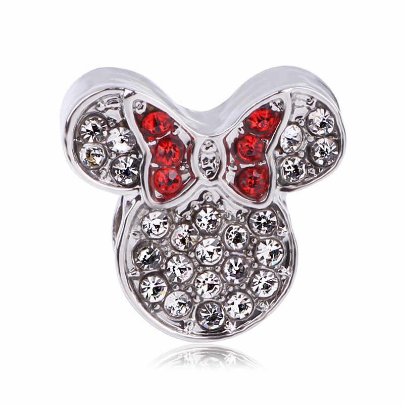 AIFEILI נשים של צמיד תכשיטים אירופאי קסם חרוזים אישיות תליון סדרת מתאים פנדורה מיקי קייטי יפה