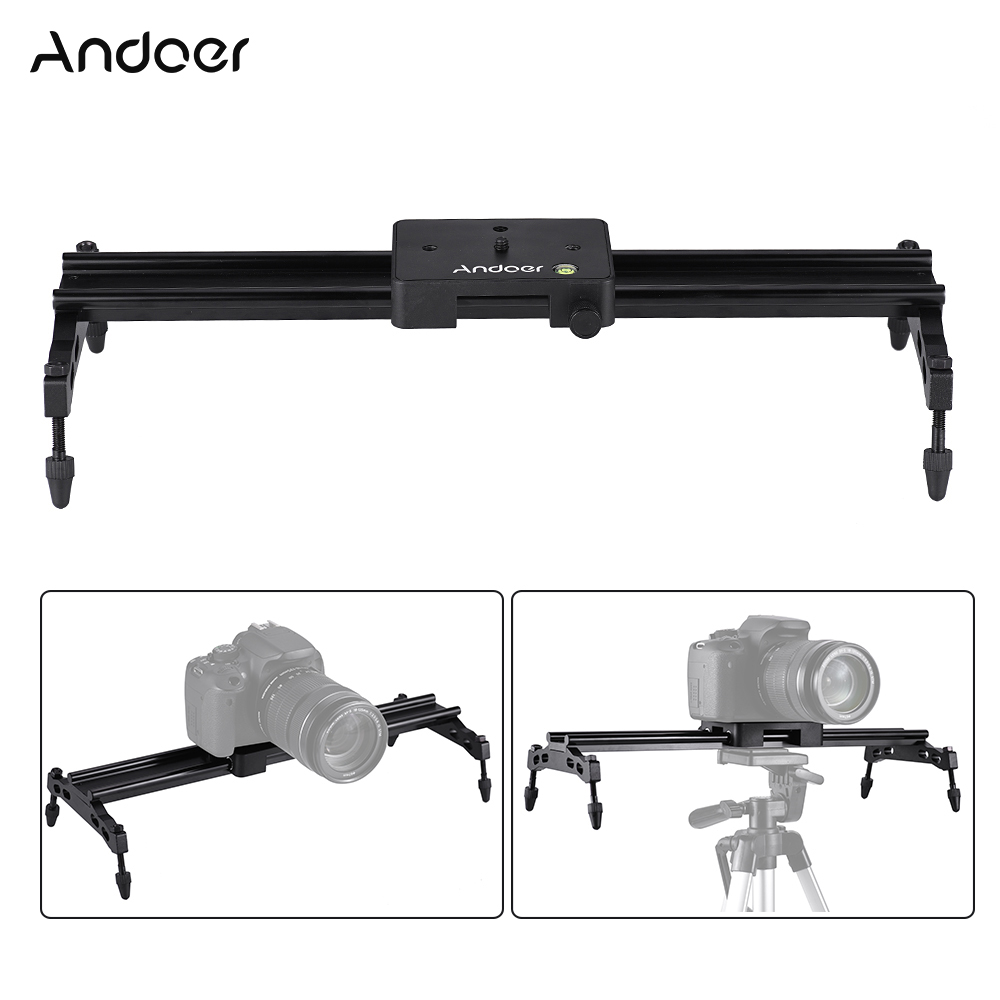 New Professional Adjustable DSLR Camera Video Slider Track For Canon Nikon Sony Camera DV Dolly Stabilizer image