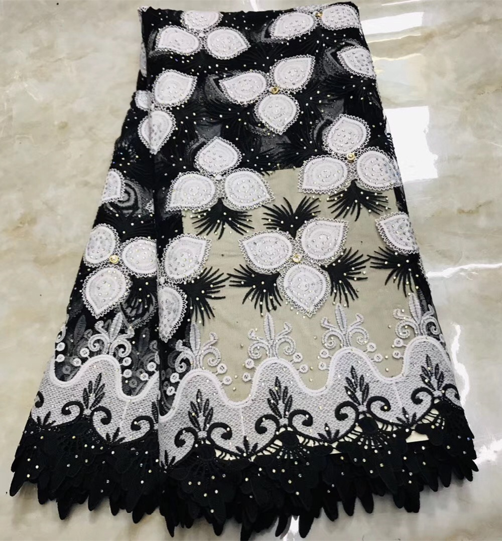 African Tulle Lace Fabric 2019 African French Lace Fabric High Quality With Stones Nigerian Embroidery Tulle French LaceAfrican Tulle Lace Fabric 2019 African French Lace Fabric High Quality With Stones Nigerian Embroidery Tulle French Lace