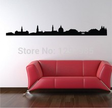 Landmarks World Buildings Skyline Wall Art Sticker Decal Home DIY  Decoration Decor Wall Mural Removable Room Decal Sticker Part 87