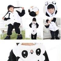 Christmas Baby Boys Girls Panda Children Pajamas Flannel Stitch Animal Pajamas Kid Pajama Sets Onesies Children