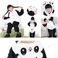 Christmas Baby Boys Girls Panda Children pajamas Flannel Stitch Animal Pajamas Kid Pajama sets Onesies Children Clothing