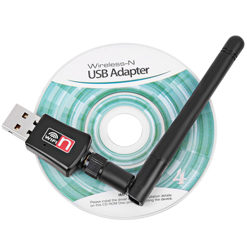 300Mbps Wireless Wifi Adapter USB Wifi Receiver With 2dB Antenna Lan Network Card 802.11n/b/g For PC Computer Desktop