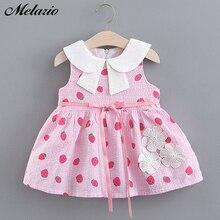 Melario Baby Girl Dresses 2019 New Spring Summer Fashion Emb