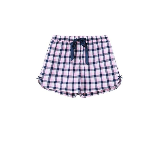 CILER 100% Cotton  Women Sleepwear Bottoms Loose Print Pajama Shots Women Underpants Beach Pants