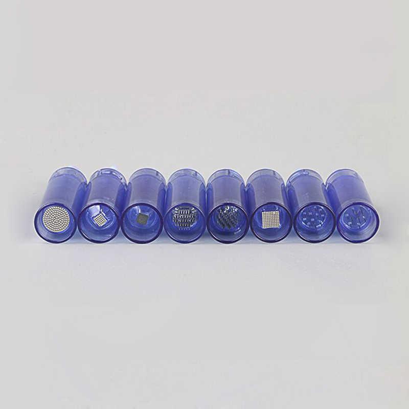 50pcs 9 12 36 42 nano pin Bayone Caneta Derma Cartucho de Agulha de Tatuagem Dicas Para O Dr. caneta A1 Elétrica Micro Rolamento Selo Derma Terapia