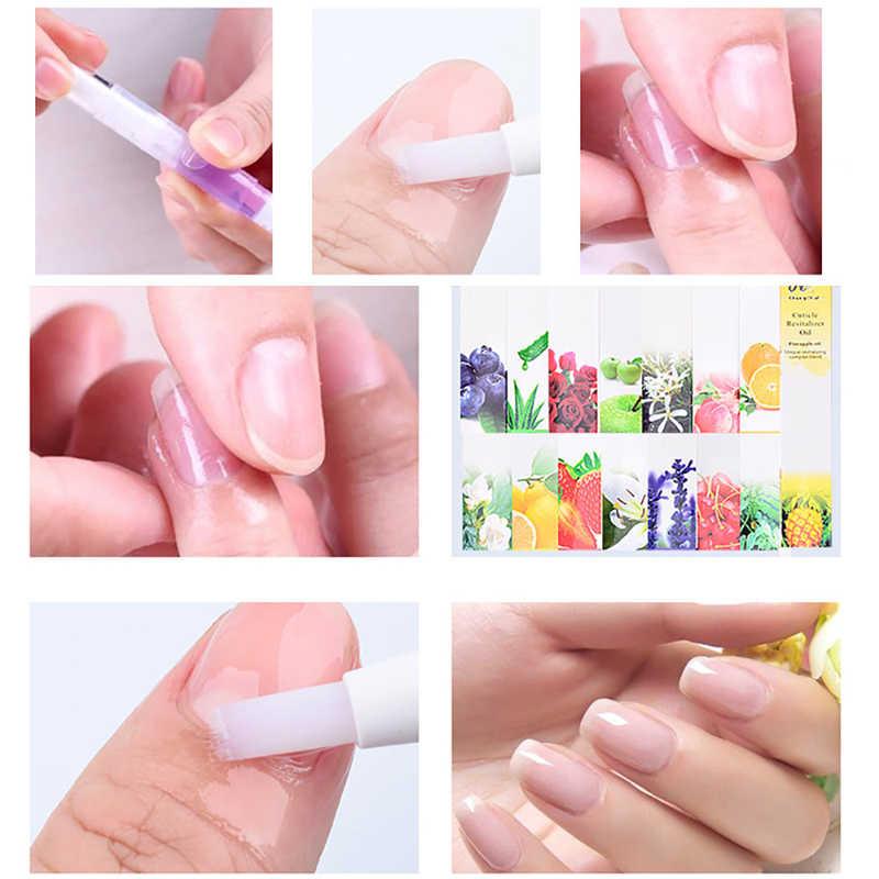 15 Pz/lotto olio per cuticole Nutrimento olio Cuticola Revitalizer oil Pen Unghie Artistiche Trattamento di Cura Manicure Set Chiodo chiodo fungo