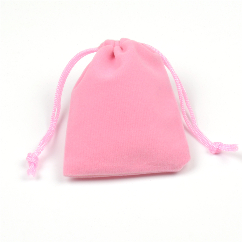 7x9cm 50pcs/lot Small Pink Velvet Bags Favor Wedding Gift Bag Cute ...