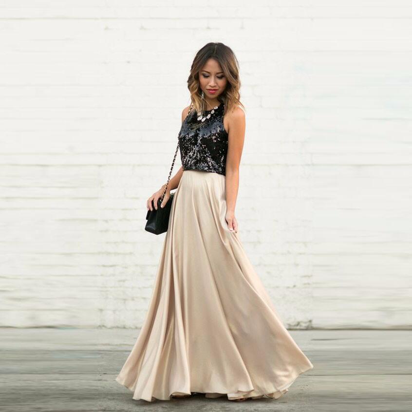 Пышная юбка на шампанское