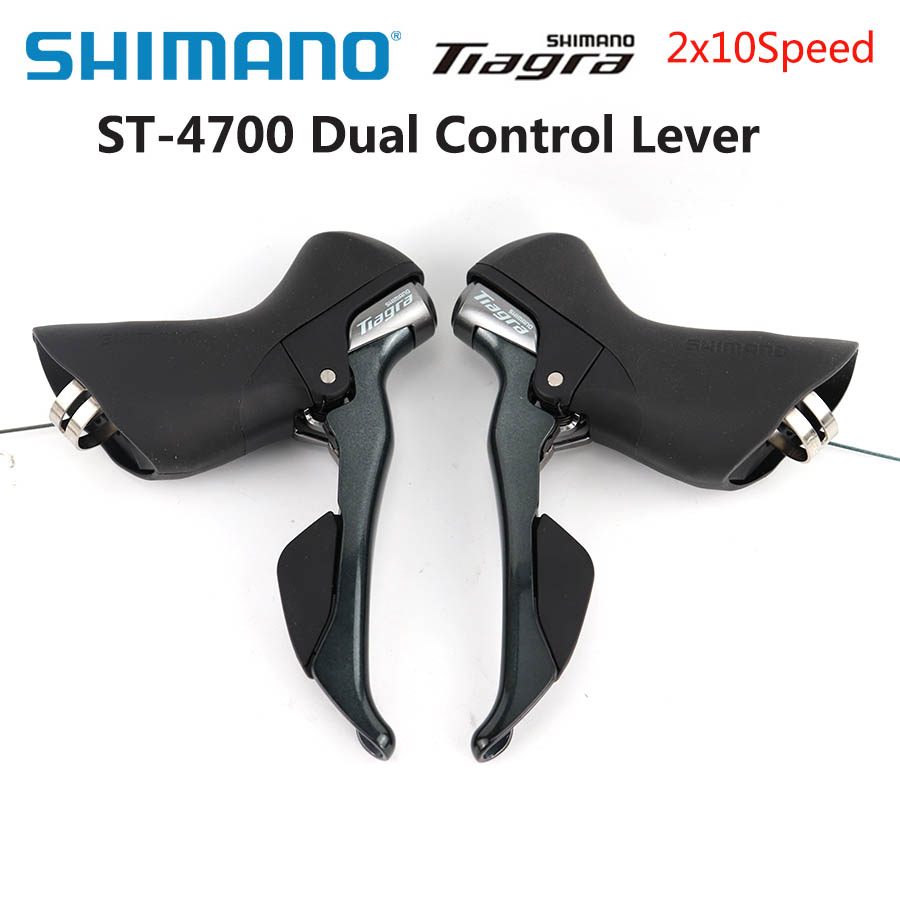 Shimano <font><b>Tiagra</b></font> ST-4700 2x10 Speed Road Bike Shifters Brake Levers Dual Control Lever 20 speed Pair Road bike accessories image