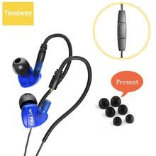 Waterproof Super Bass Earphones Monitoring Ear phones In Ear Monitors HiFi Earbuds With Microphone for Smart Phone Earpiece
