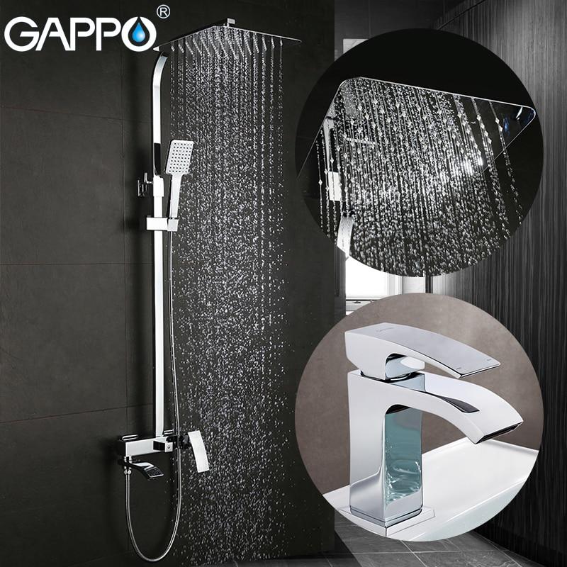 GAPPO Bathtub Faucets bath tub faucet bathtub mixers basin faucets basin sink mixer robinet baignoire