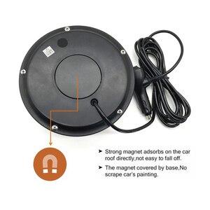 Image 5 - Amber LED çakarlı lamba Beacon araç araba çatı üst tehlike uyarı flaş acil durum ışıkları dönen yanıp sönen emniyet sinyal lambası