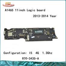 "Genuine A1465 logic board i5 1.3GHz 4GB for MacBook Air 11.6"" Motherboard Compatible 2013 2014year 820-3435-B 820-3435-A"