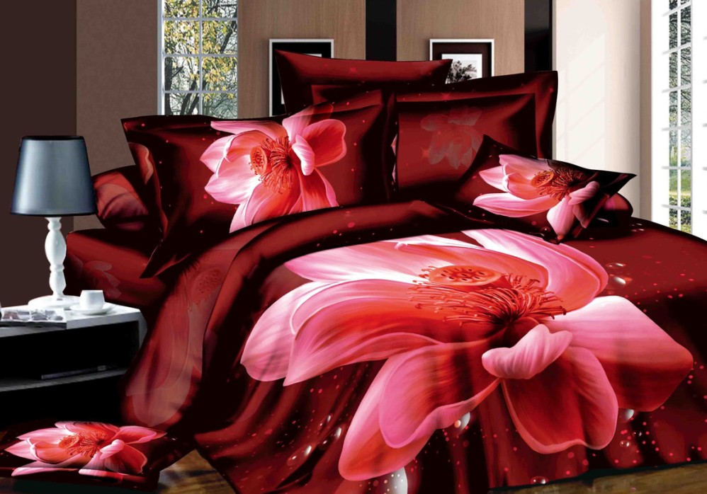 Red Duvet Covers King Size PromotionShop for Promotional Red