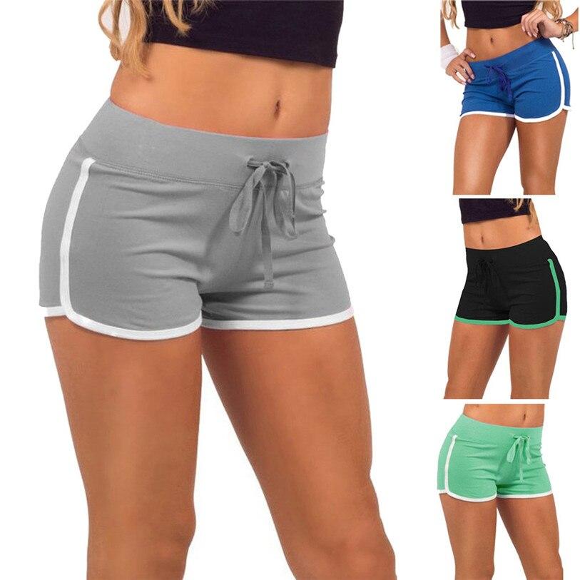 1PCS Women Shorts 2018 New Fashion Spring Summer Shorts Women Shorts Waistband Skinny Elastic Shorts High Quality Apr 3