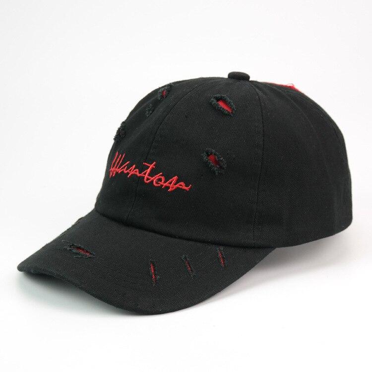 2017 New Outdoor sport Holes Women Letter casquette de Baseball Hat Lovers Sun Hats snapback cap hip hop fishing Caps russia 2016 new fashion letter gorros hats bonnets